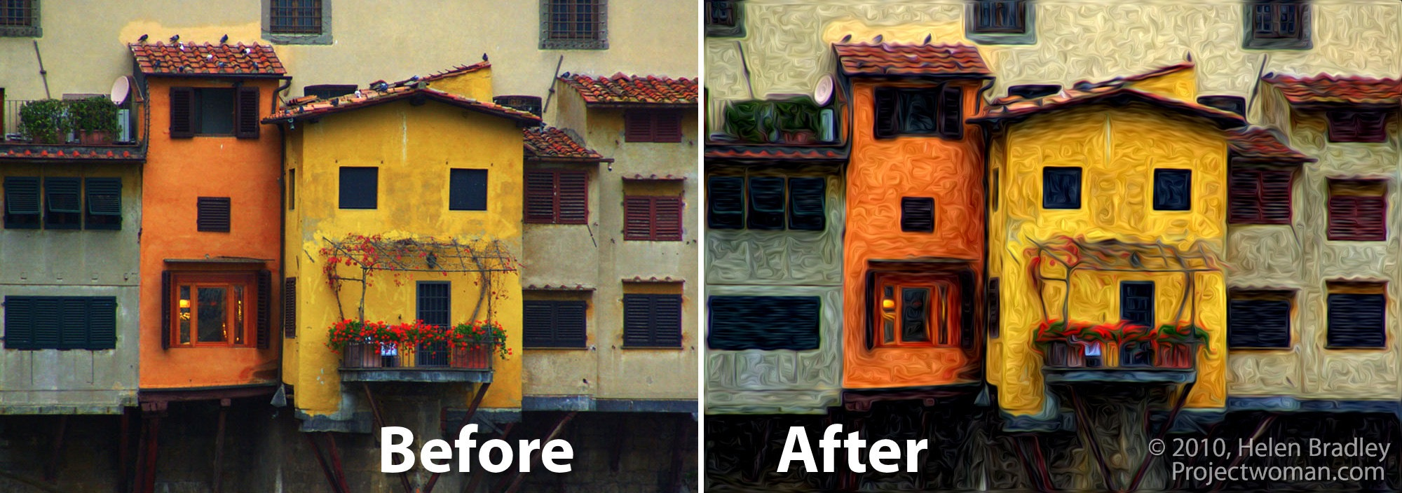 Photoshop cs5 oil painting with pixel bender for Make a photo look like a painting
