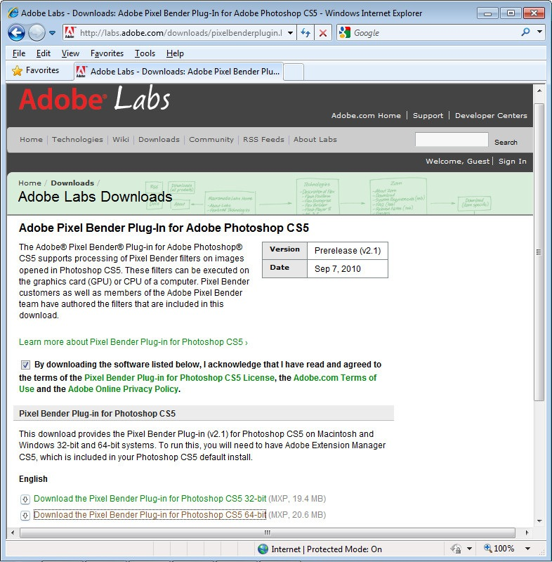 adobe.com/downloads