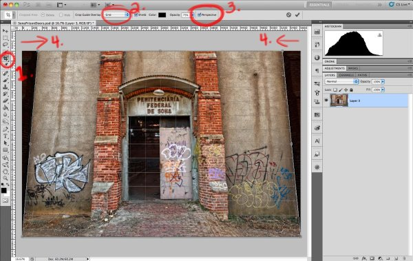 Correcting Perspective Lens Distortion In Photoshop