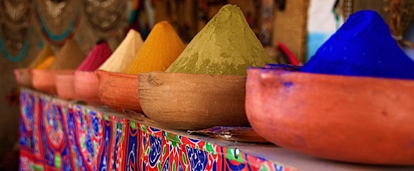 Color - Colorful Dies - Near Aswan, Egypt - Copyright 2010 Ralph Velasco.jpg
